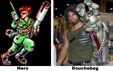 bionic commando old and new
