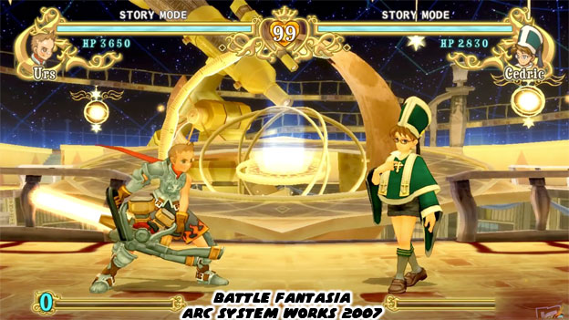 No Other Fighting Game Before Or Since Looked Like Battle Fantasia The World Created By ASW Was Perfect To Get Lost In Characters Were Types Of