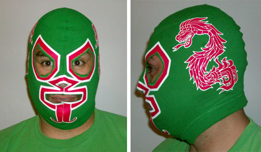 how to make a lucha libre mask viper comics