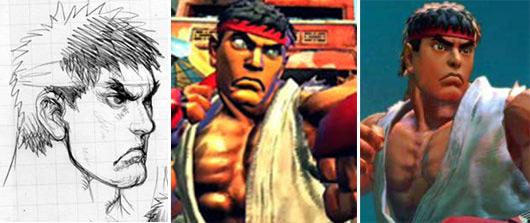 Ryu s'est mis à dos Ken... Ryu_evo01